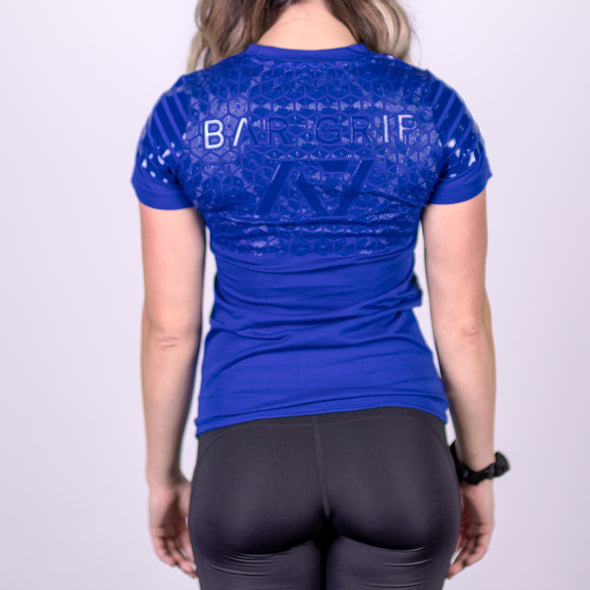 Strongman Blue Bar Grip Women's Shirt