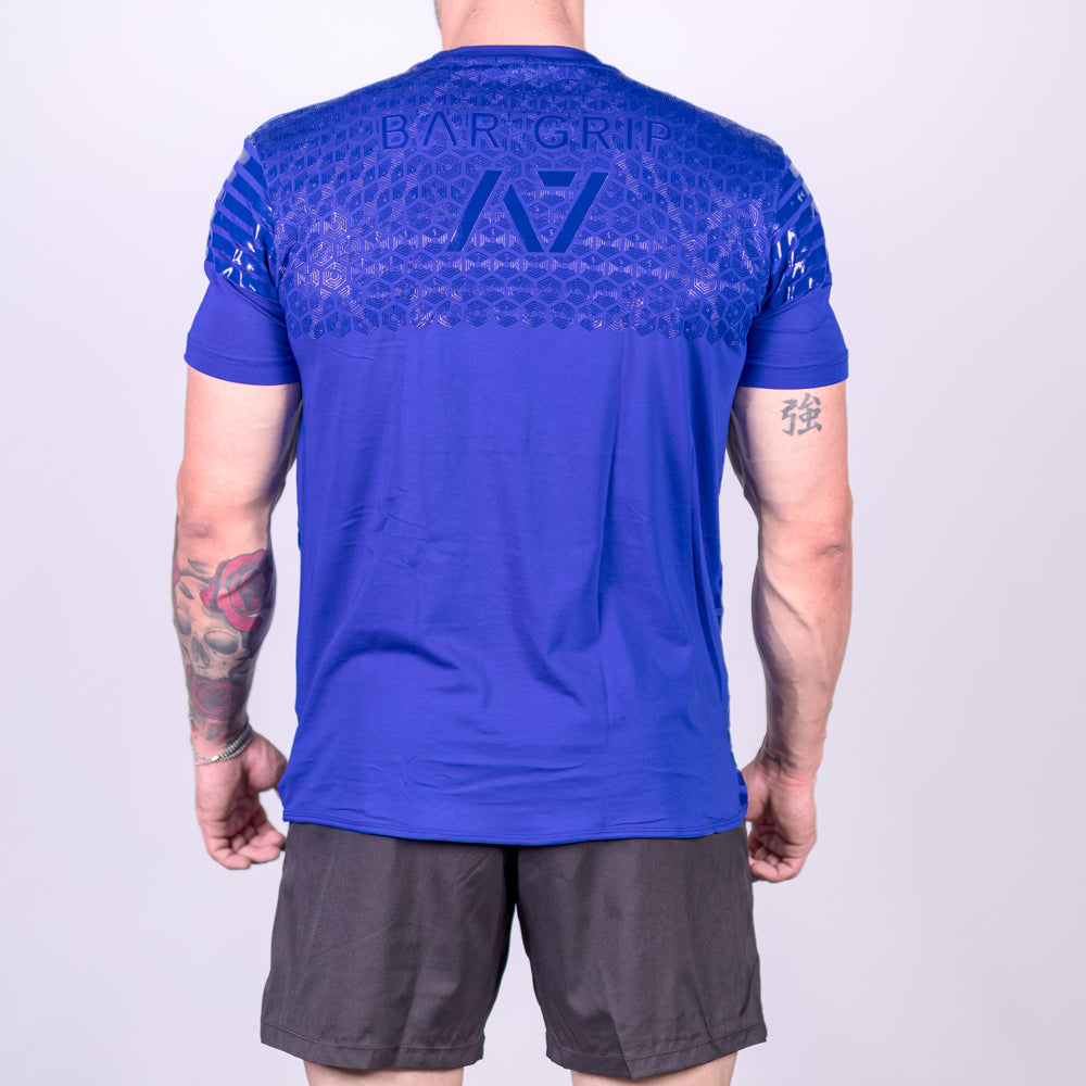 2019 Strongman Blue Bar Grip Men's Shirt