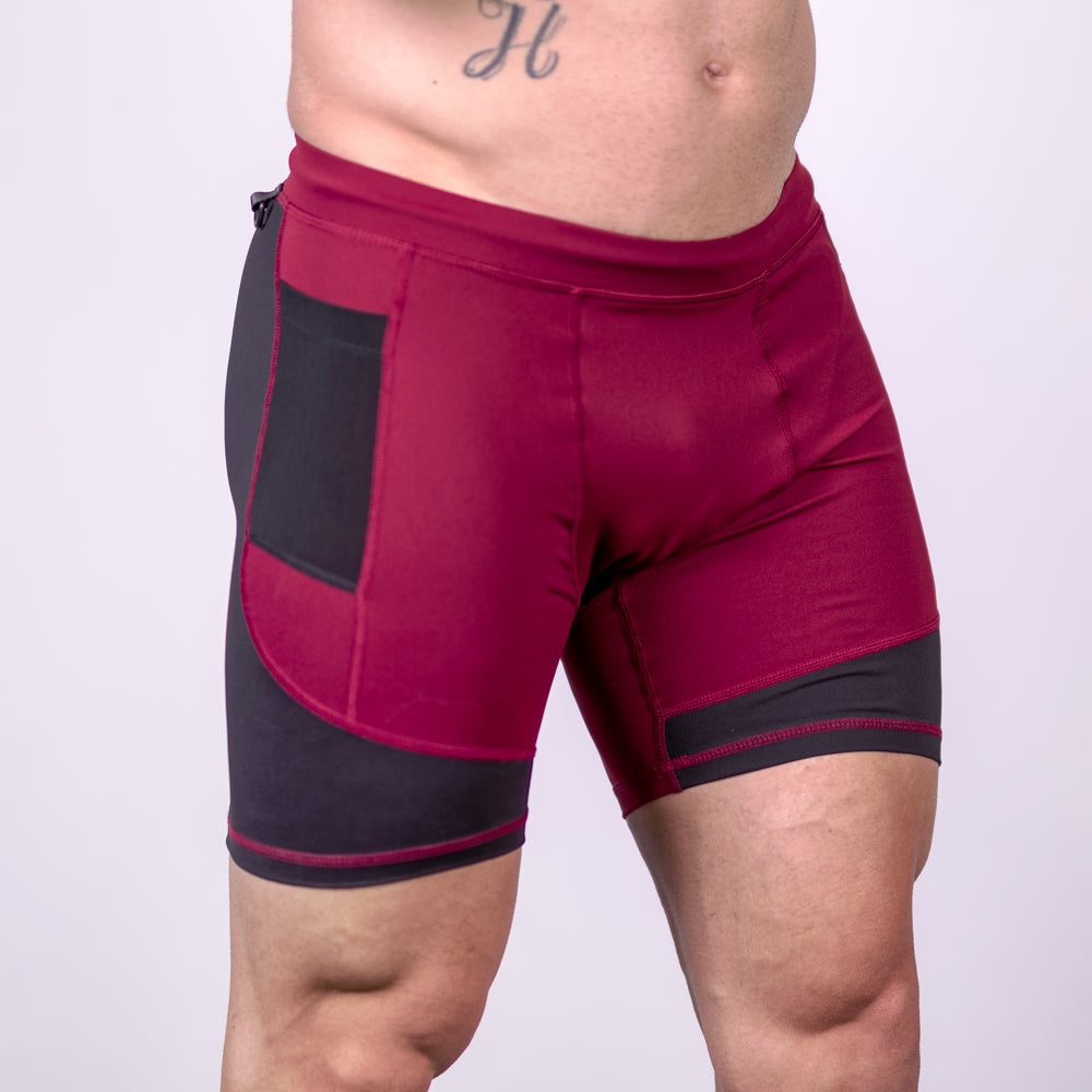 Men's OX Compression Shorts - Fire
