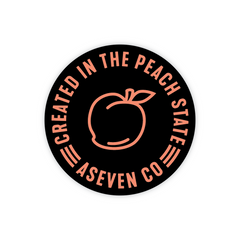 Peach State Sticker