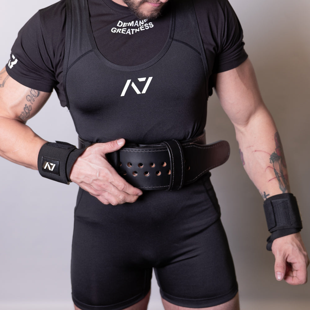 A7 Singlet - Black - IPF Approved