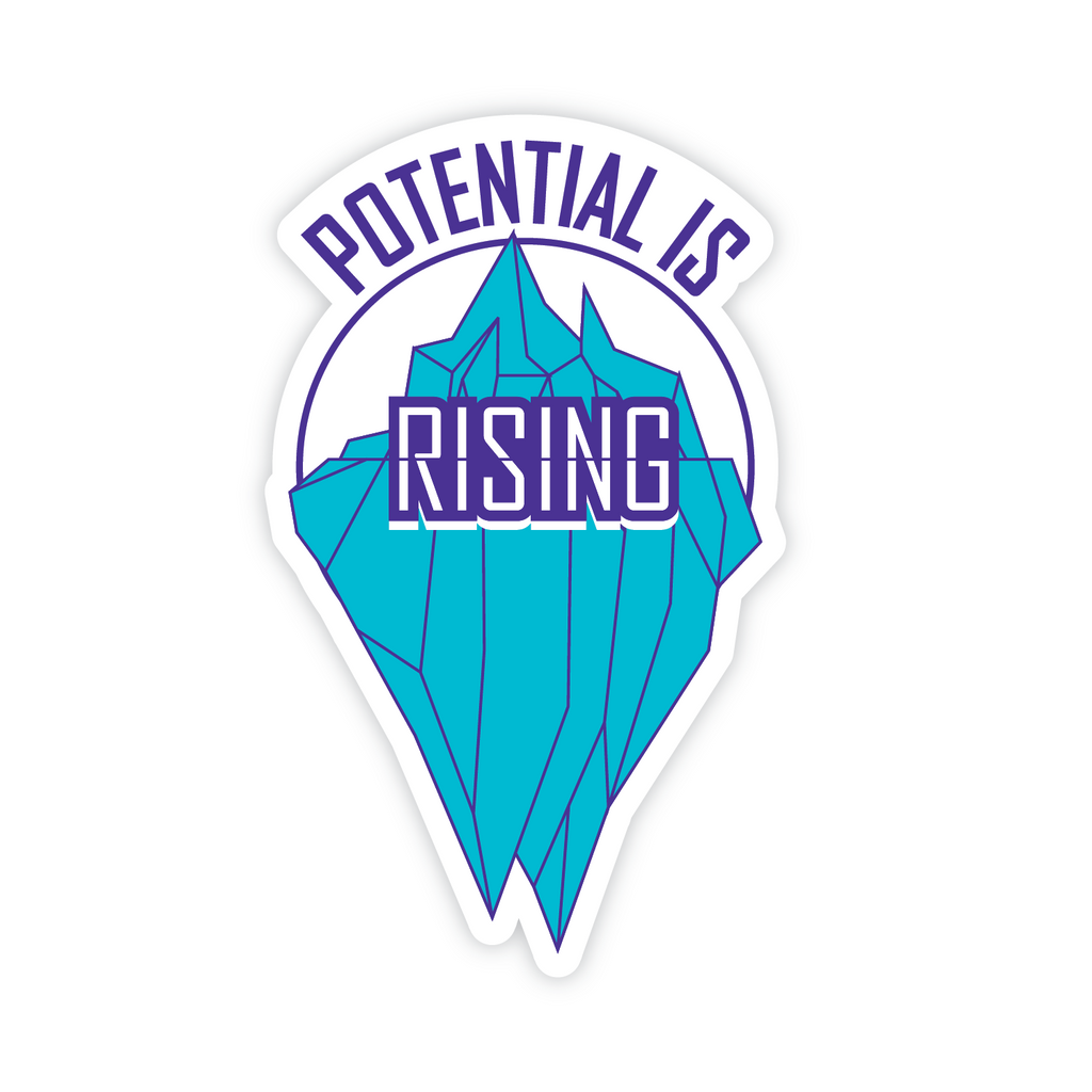 Rising Sticker