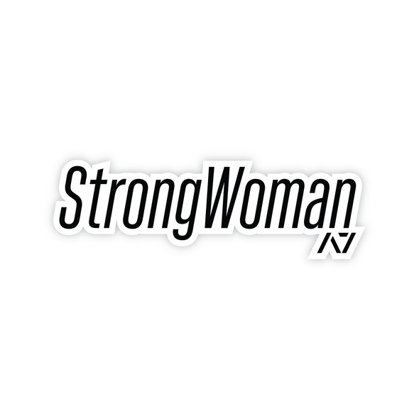 StrongWoman Sticker