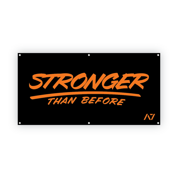 Stronger Than Before Gym Banner
