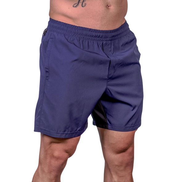 Men's Center-stretch Squat Shorts - Navy