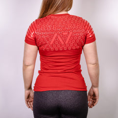 2019 Strongman Red Bar Grip Women's Shirt