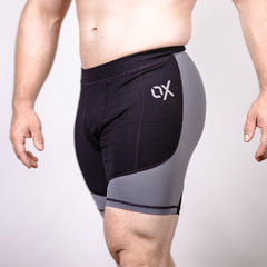Men's OX Compression Shorts - Shadow