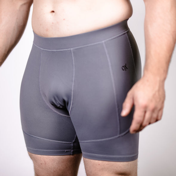 Men's OX Compression Shorts - Stone
