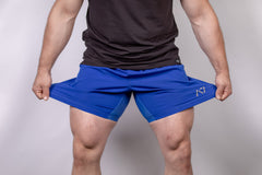 Men's Center-stretch Squat Shorts - Royal
