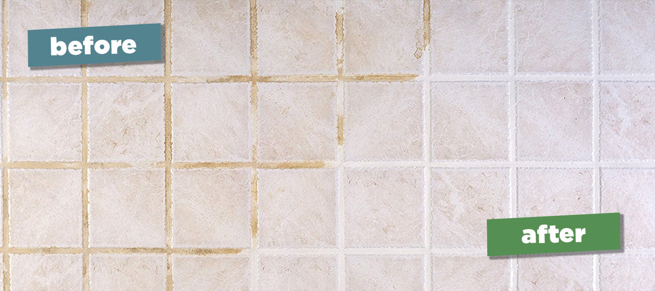 Spring Showers How To Clean Mold Grime From Shower Tile Green Gobbler