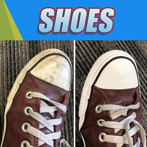 shoe stain removal