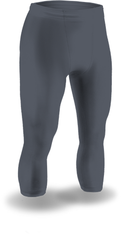 120JQ-CB Calf Length Sport Tight w/ Draw Cord