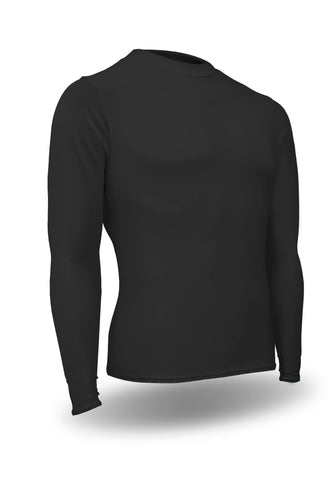 HT-603LY-CB Youth Heat Tech Crew Neck Long Sleeve Compression Shirt