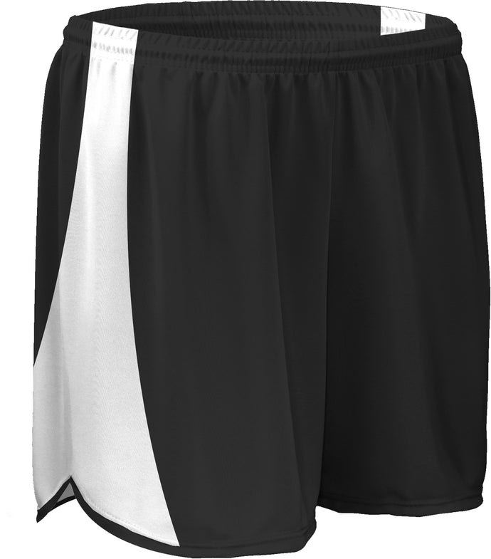 TR-687W-CB Women's Tricot Short w/ Side Panels, Trim & Draw Cord