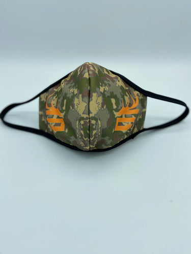 Camo Face Mask Reusable Double Ply