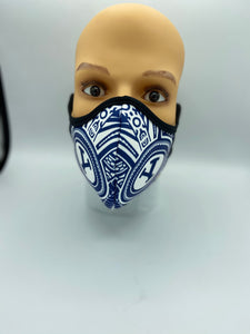 BYU Face Mask Reusable Double Ply- W/Elastic Earloops - Multiple Designs