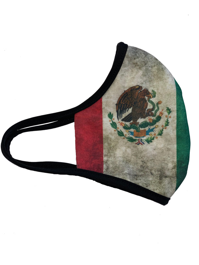 Mexico Face Mask Reusable Double Ply