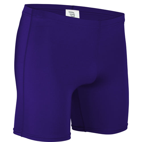 NL-111Y-CB Youth Nylon Lycra Compression Short w/ Graded Inseam