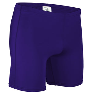 NL-111-CB Adult Nylon Lycra Short w/ Graded Inseam