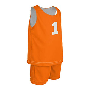 Infant Mock Mesh Reversible Jersey and Short Combo  (GL-993i-CB)