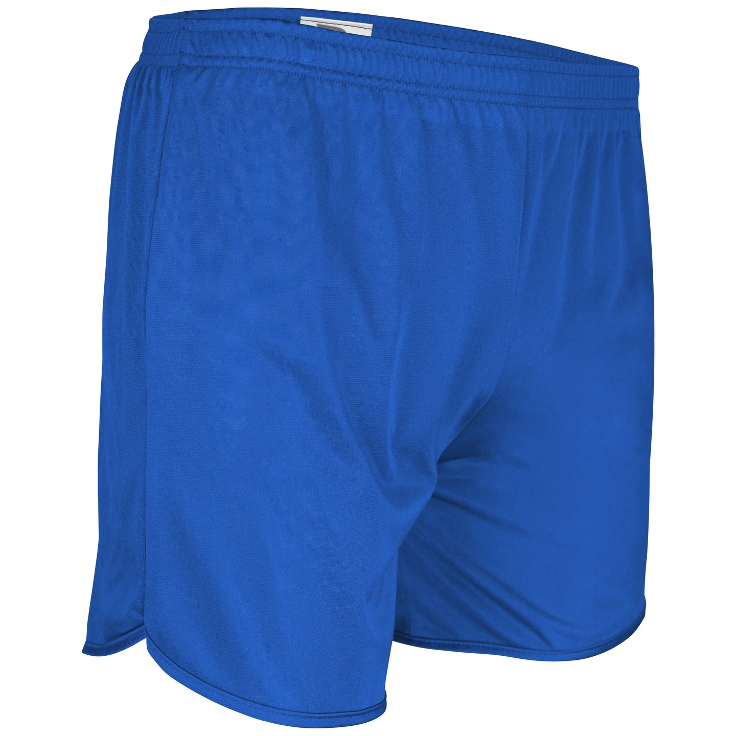 TR-403-CB Men's Tricot Solid Running Short w/ Trim (White, Black, Red, Royal, Navy)