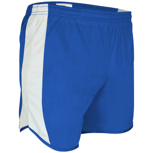 TR-687Y-CB Youth Tricot Short w/ Side Panels, Trim