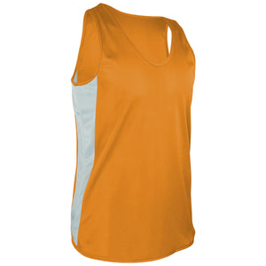 TR-980-CB Men's Tricot Singlet w/ Side Panels & Trim