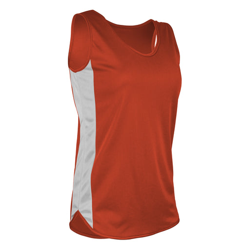TR-980W-CB Women's Singlet w/ Side Panels & Trim