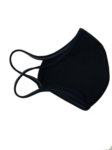 3-QTY- Reusable Single Ply Protective Face Mask Elastic Ear loops