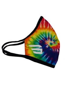 GG Tie Dye Face Mask Double Ply Reusable W/Elastic Earloops