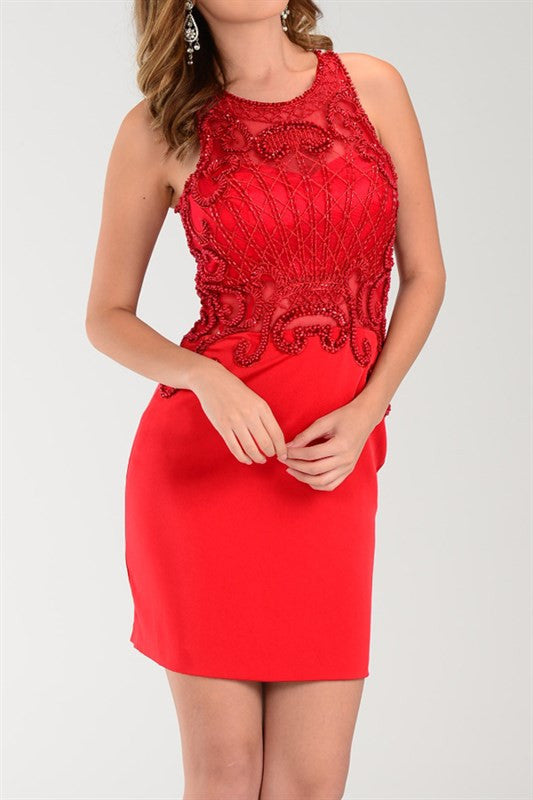 SHORT BODYCON SEXY COCTAIL WEDDING HOMECOMING PROM DRESS