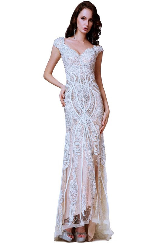 Masquerade ball dress roaring twenties wedding dress prom for Roaring 20s wedding dress