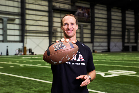PlayCoach Partner Drew Brees