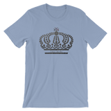 Silver Crown Short-Sleeve Unisex T-Shirt (Various Colors)