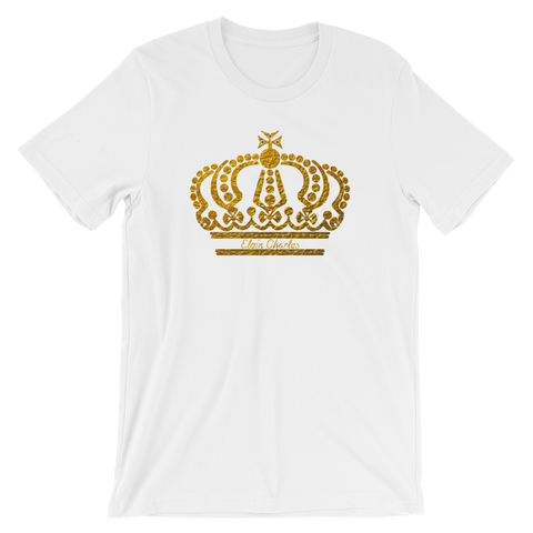 Crown Short-Sleeve Unisex T-Shirt (Various Colors)