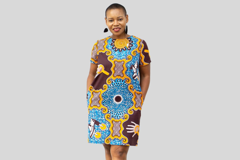 Panashe African Printed Dress