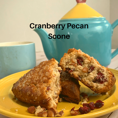 Cranberry Pecan Scone 4 pack-direct sales only-baked or frozen