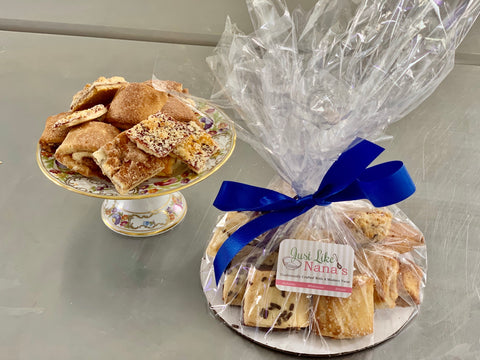 Small Variety Platter-  8 pieces of rugelah +4 of our other specialty products