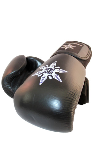 Riot Gear Leather Boxing Gloves