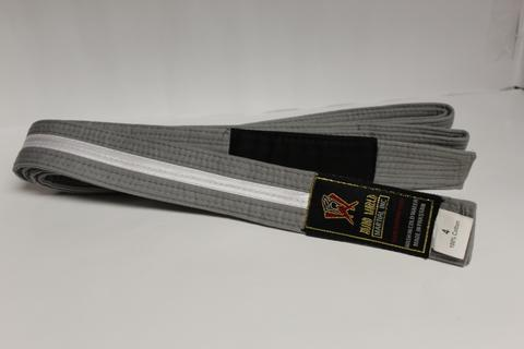 BJJ Coloured Rank Belt - White Stripe