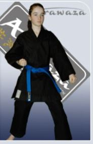 Arawaza Heavyweight black, Karate