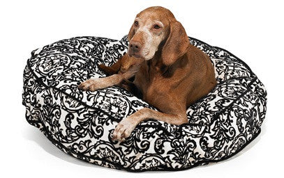 Bowsers Super Soft Round Microvelvet Bed - 10 Pattern Options!