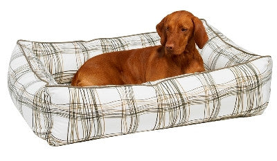 Bowsers Urban Lounger Bed - Micro-Velvet -22 Patterns