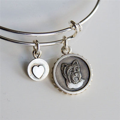 Sara James Yorkshire Terrier Bracelet