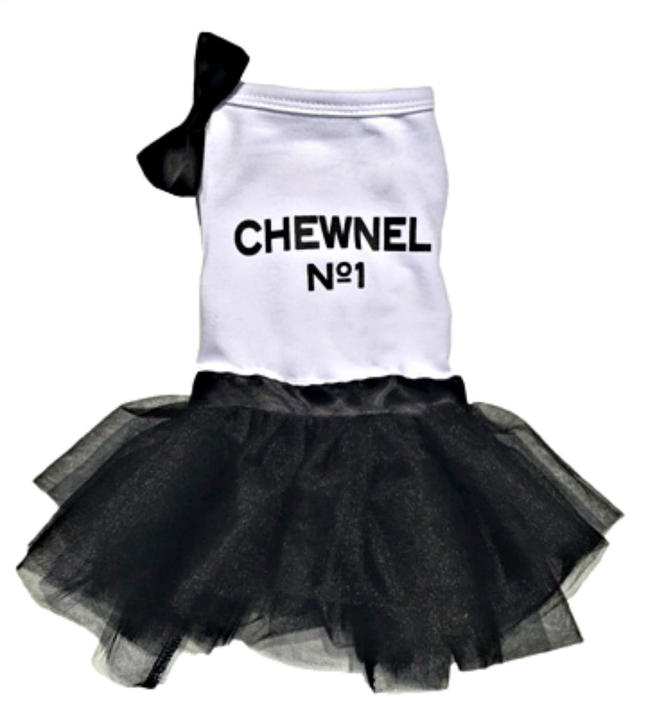 "PRE-ORDER Dogs of Glamour ""Chewnel Tutu"" Dog Dress"