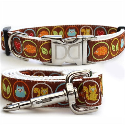 Diva Dog - Squirrel Patrol - All Metal Buckles