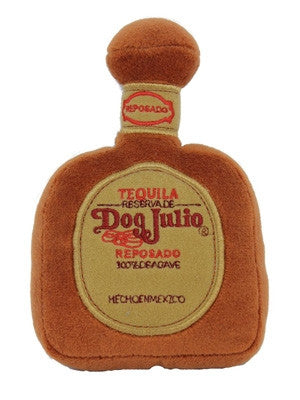 Dog Julio Tequila Toy by Dog Diggin Designs