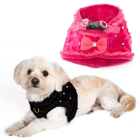 Dogs of Glamour Glam Quilted Harness
