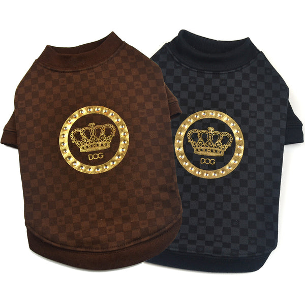 "Dogs of Glamour ""Luxe Stamped"" Shirt"