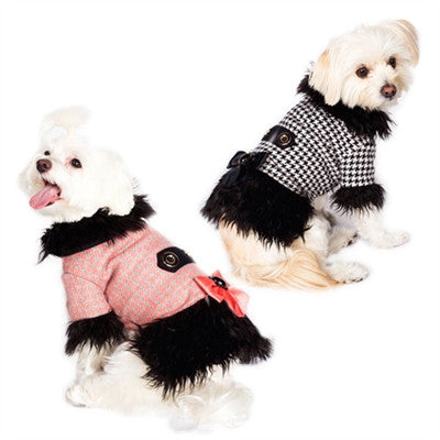 Dogs of Glamour Classic Peacoat